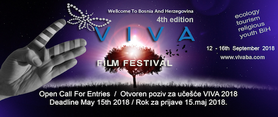 Open Call For Filmmakers Viva 2018