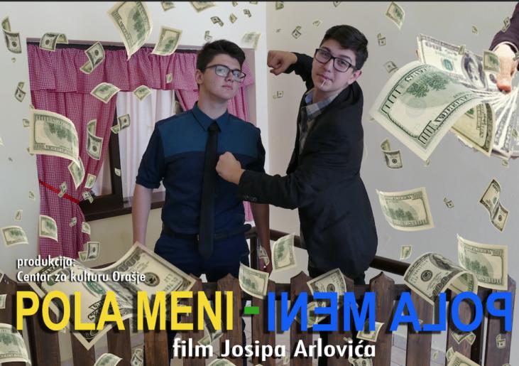 """Orašje – snimili film """"Pola meni – pola meni"""" Viva škola filma 2018."""