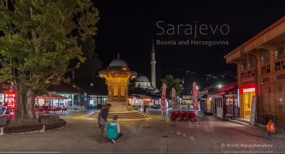 Fantastic video about Sarajevo.
