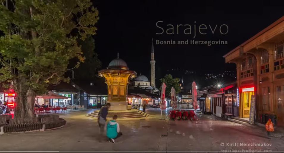 Fantastičan video o Sarajevu.